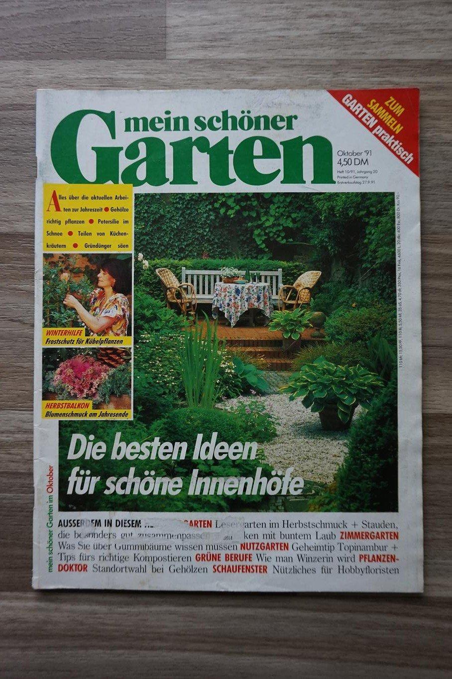 """Mein schöner Garten - Ausgabe Oktober 1991"""" – Buch gebraucht kaufen ..."""
