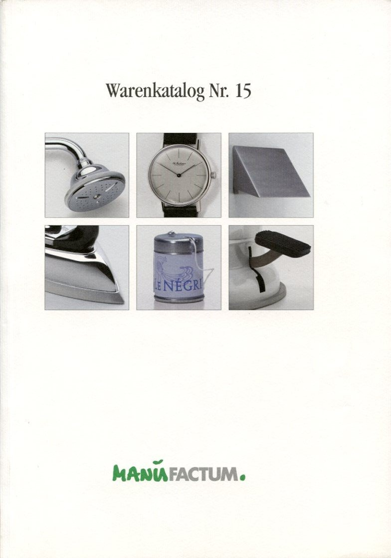 "2ff5274f51085a ""Manufactum Warenkatalog Nr"" – Buch gebraucht kaufen – A02dRLhm01ZZH"