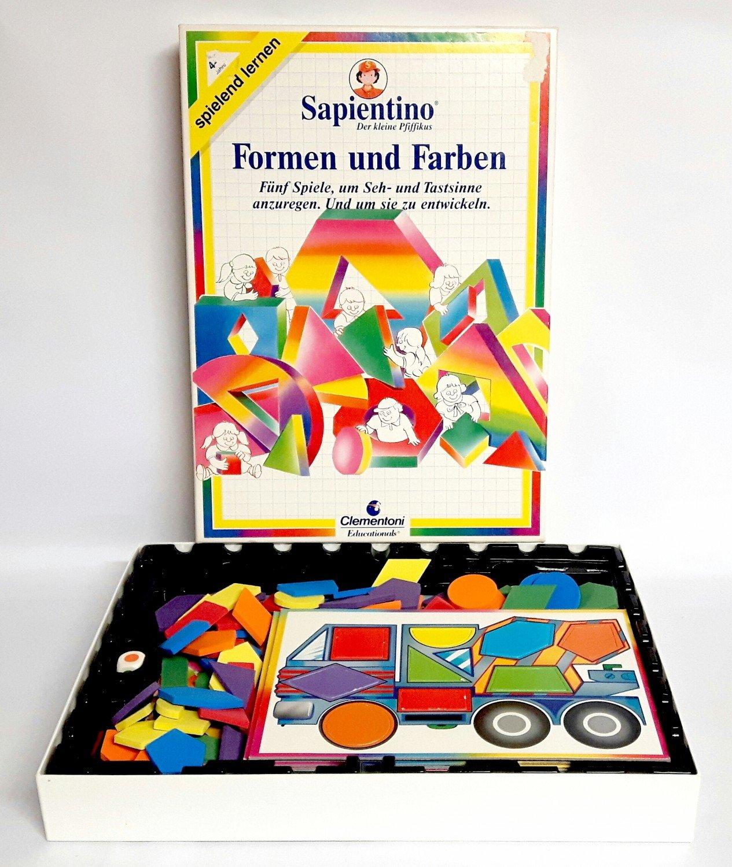 Sapientino - Der kleine Pfiffikus - Farben und Formen - Spielend ...