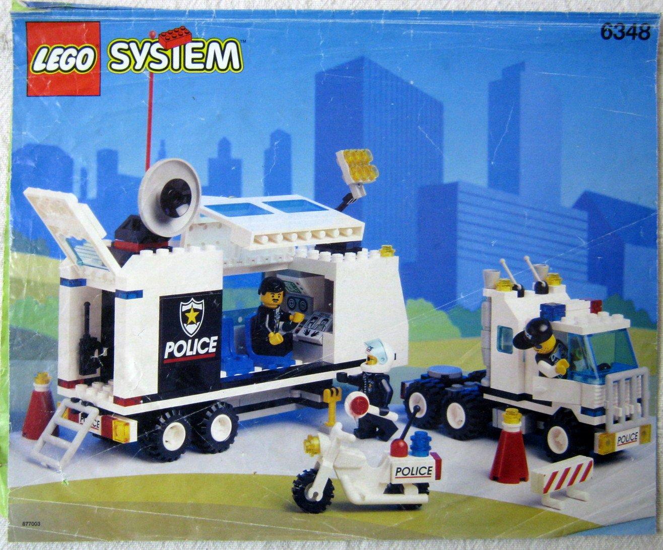lego bauanleitung bauplan 6348 mobile polizei einsatzzentrale buch gebraucht kaufen. Black Bedroom Furniture Sets. Home Design Ideas