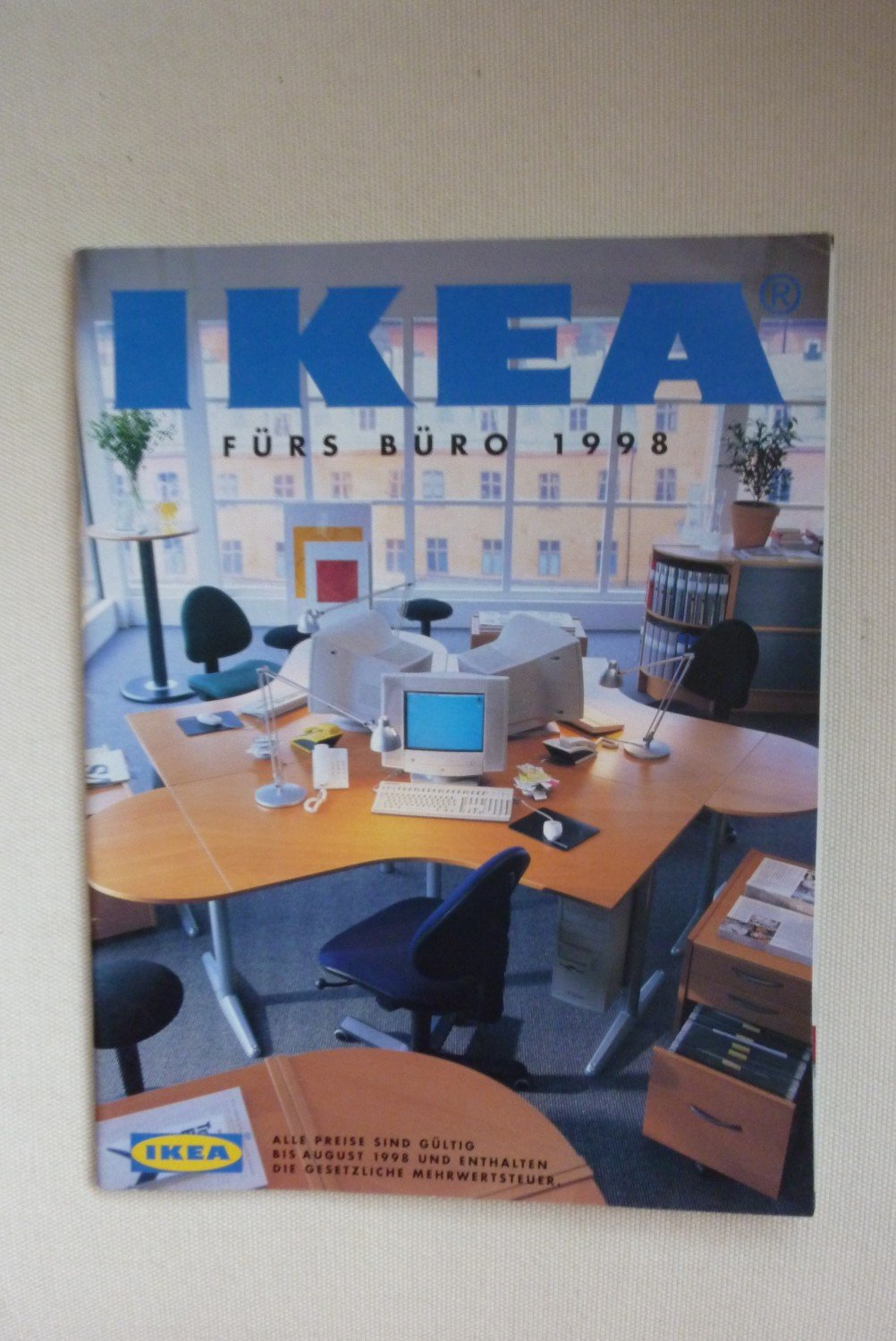 ikea b rom bel katalog 1998 ikea f rs b ro 1998. Black Bedroom Furniture Sets. Home Design Ideas