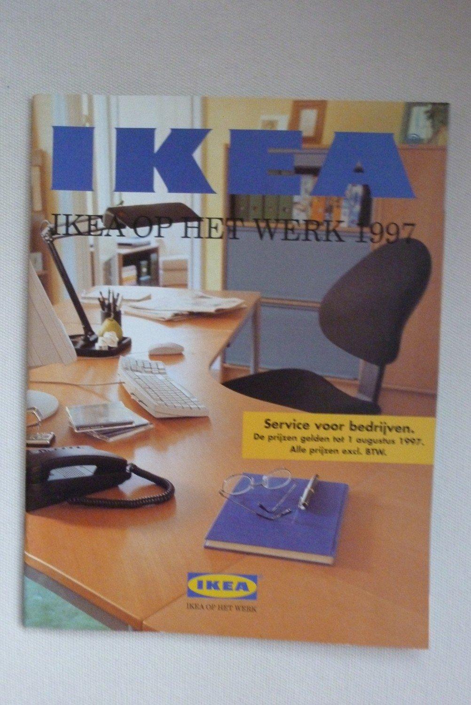 Büromöbel ikea effektiv  IKEA op het werk 1997 niederländischer IKEA-Büromöbel-Katalog ...