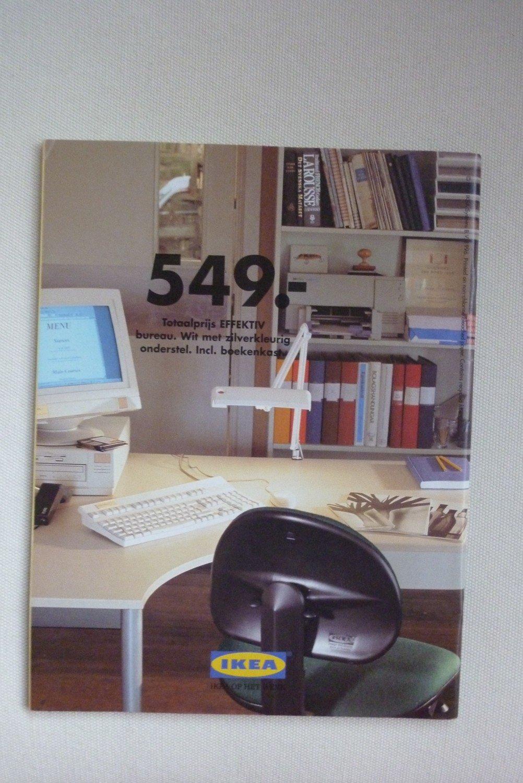 IKEA op het werk 1997 niederländischer IKEA-Büromöbel-Katalog ...