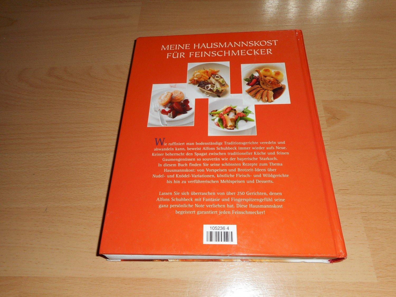 """Meine Hausmannskost für Feinschmecker"""" (Alfons Schuhbeck) – Buch ..."""