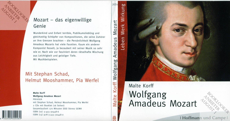 """Wolfgang Amadeus Mozart"""" Malte Korff – Hörbuch Gebraucht Kaufen"""