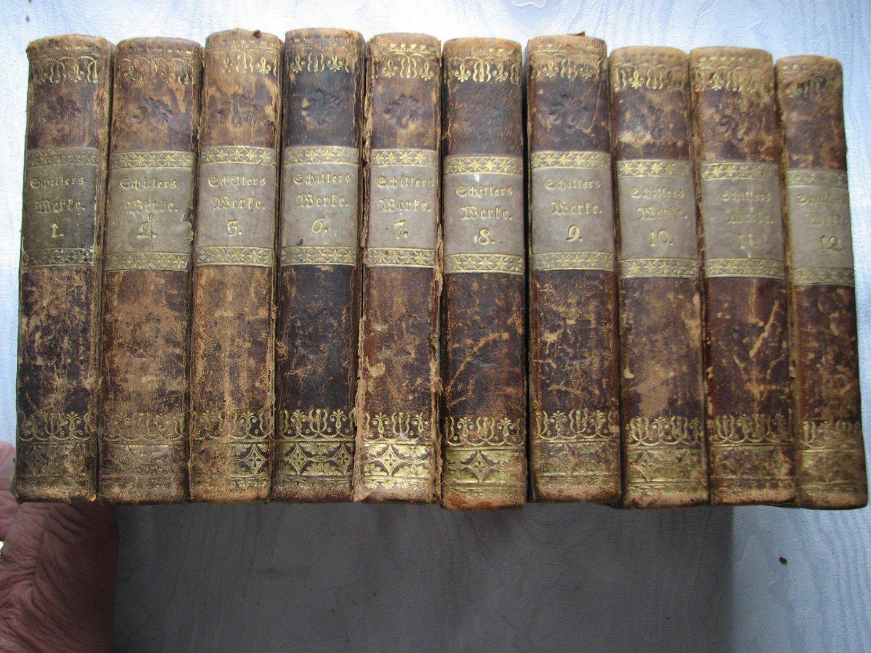 Schillers Samtliche Werke In Zwolf Banden Friedrich Schiller Buch Antiquarisch Kaufen A02fwpip01zzo