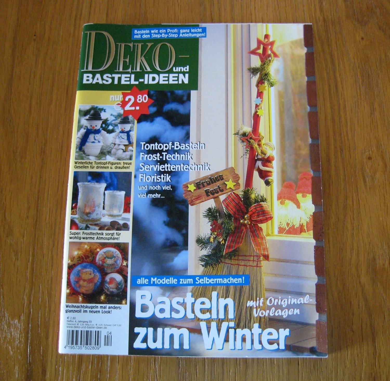 Deko Und Bastelideen Basteln Zum Winter