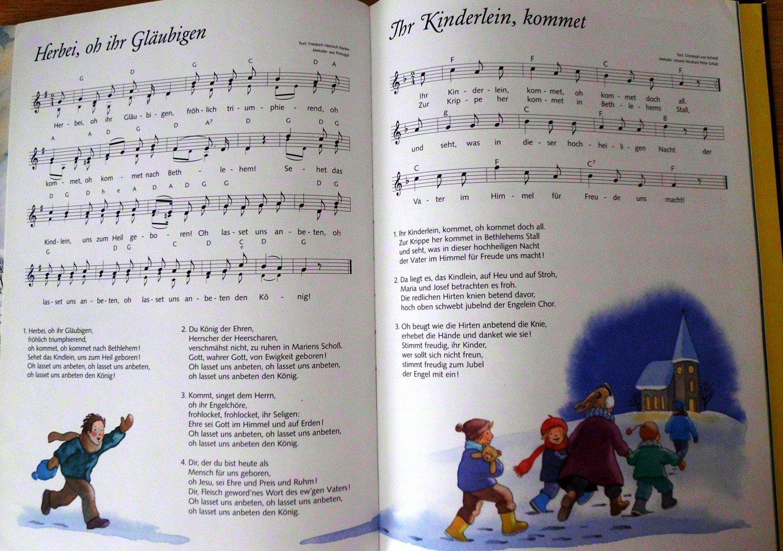 Das Grosse Weihnachtsbuch Lieder Geschichten Bastelideen Buch