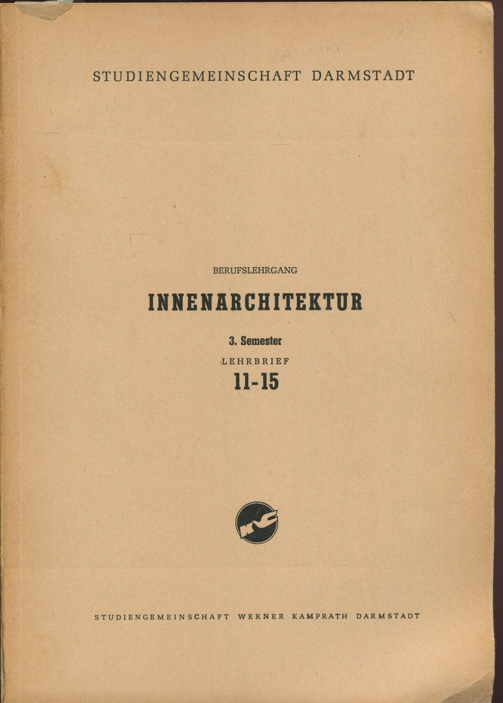 Verzauberkunst Innenarchitektur Darmstadt Beste Wahl Gebrauchtes Buch – Studiengemeinschaft Darmstadt, Langer –