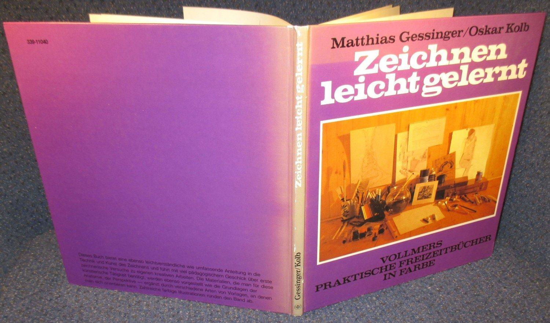 Zeichnen Leicht Gelernt Gessinger Mathias Kolb Buch Gebraucht
