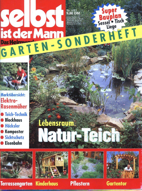 Selbst Ist Der Mann Das Heimwerker Magazin Garten Sonderheft