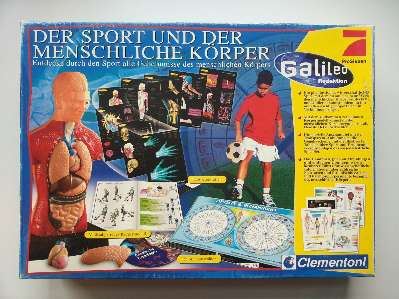 Der Sport und der menschliche Körper - Galileo Experimentierset ...