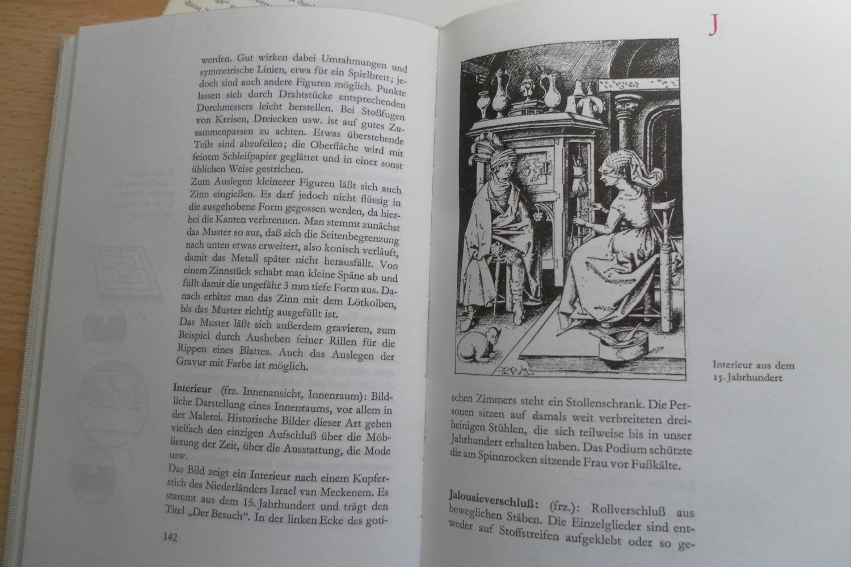 "Möbel-ABC. Pflege, Selbstbau, Reparatur, Grundbegriffe"" (Werner ..."