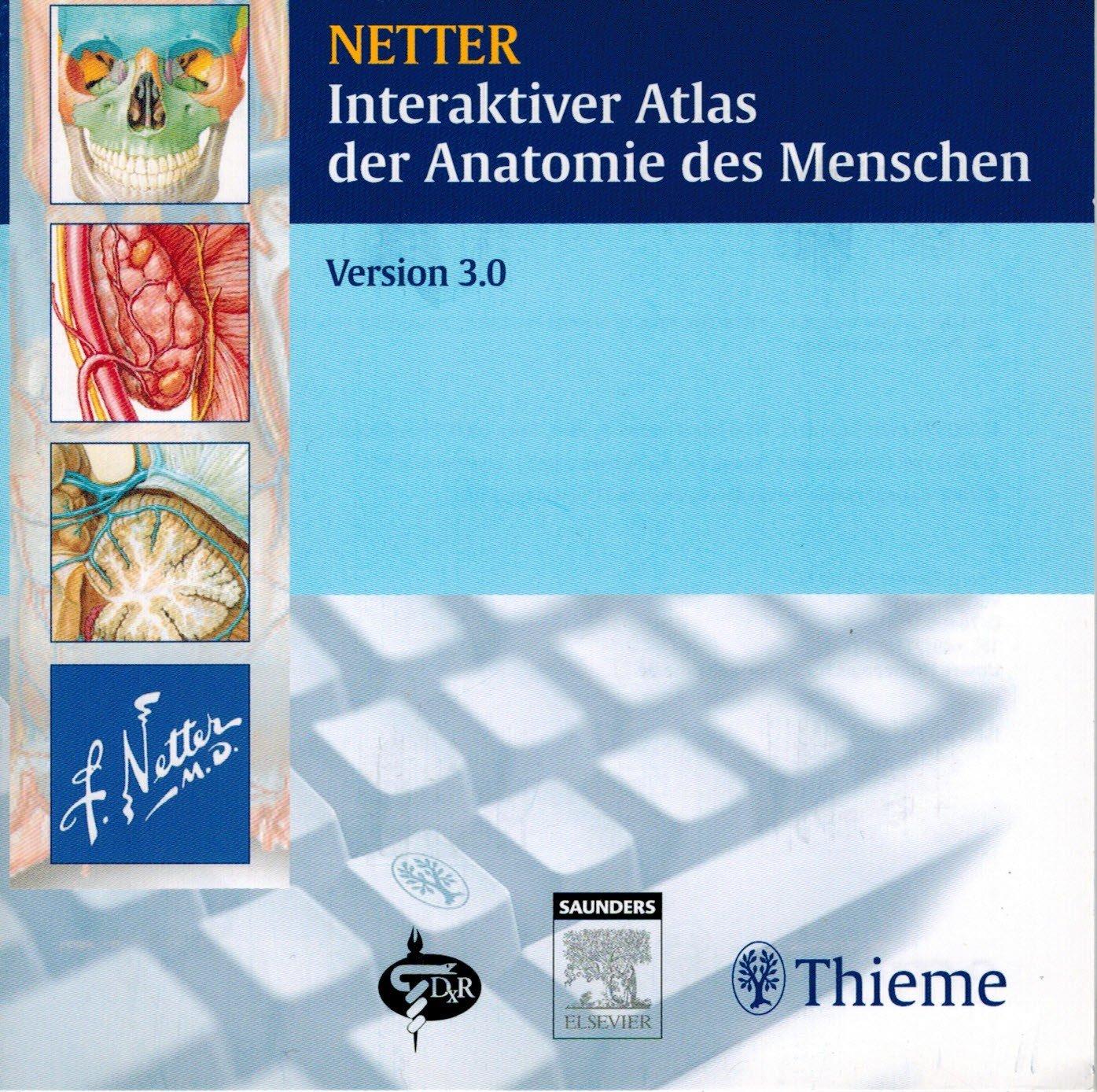 """Interaktiver Atlas der Anatomie des Menschen"""" (Netter Frank H ..."""