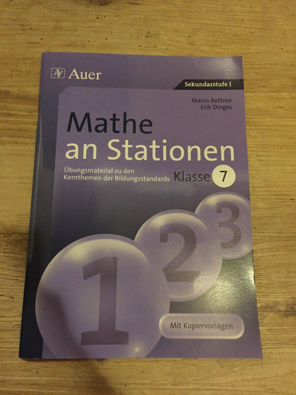 Mathe an Stationen 7 - Übungsmaterial zu den Kernthemen der ...