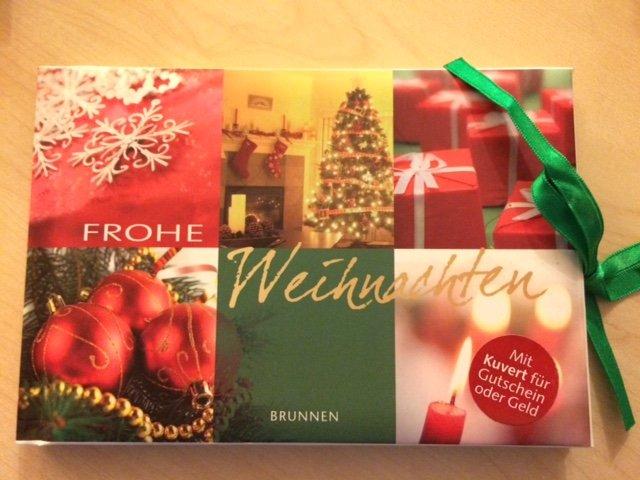 """Frohe Weihnachten - Gutscheinbuch"""" (Busch Eva M) – Buch neu kaufen ..."""