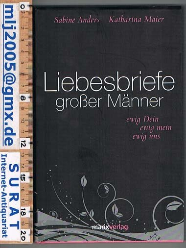 isbn 9783865391872 liebesbriefe gro er m nner ewig dein ewig mein ewig uns neu gebraucht. Black Bedroom Furniture Sets. Home Design Ideas