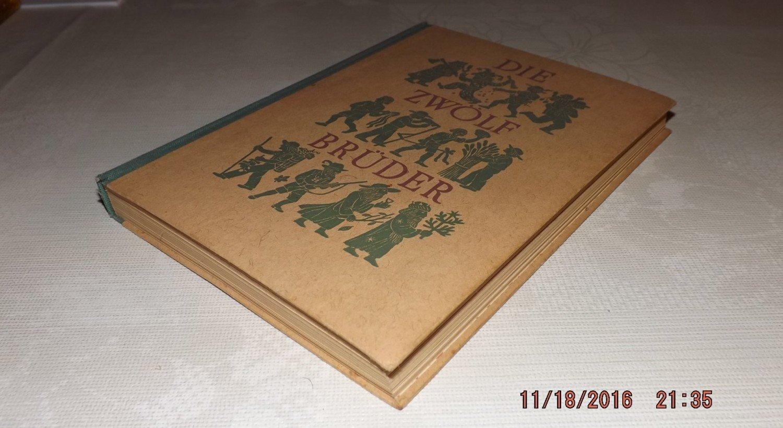 """Die zwölf Brüder"""" (Leo Weismantel) – Buch antiquarisch kaufen ..."""