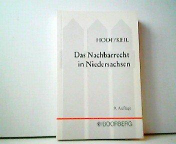 Das Nachbarrecht In Niedersachsen Bucher Gebraucht Antiquarisch