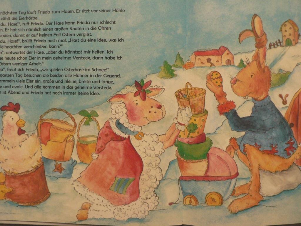 """Fröhliche Weihnachten, Frieda"""" (Schaffrath Charlotte/Anton) – Buch ..."""