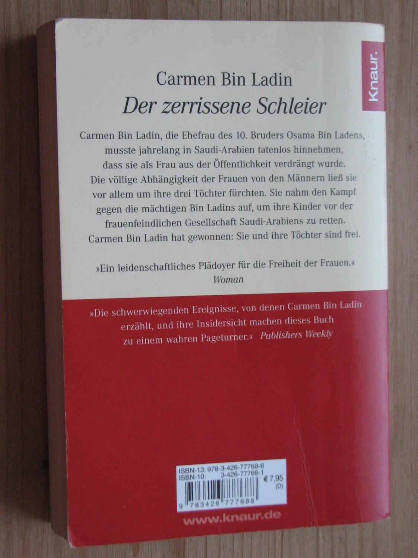 ... gebrauchtes Buch – Carmen Bin Ladin; Ulrike Wasel; Klaus Timmermann –  Der zerrissene Schleier