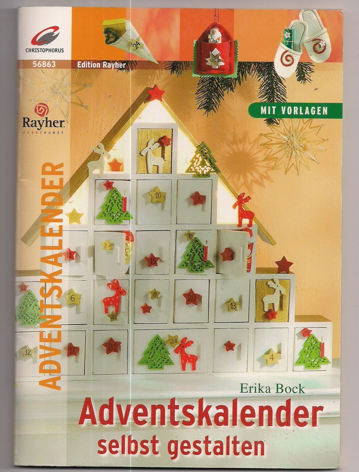 isbn 9783419568637 adventskalender selbst gestalten neu. Black Bedroom Furniture Sets. Home Design Ideas