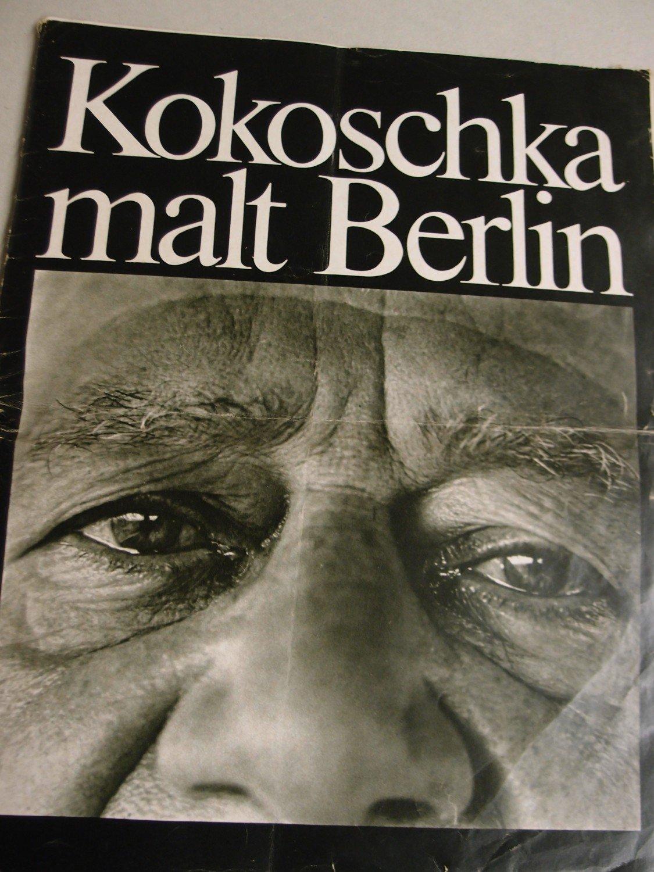 """Kokoschka malt Berlin"""" (Kokoschka Oskar) – Buch antiquarisch kaufen ..."""