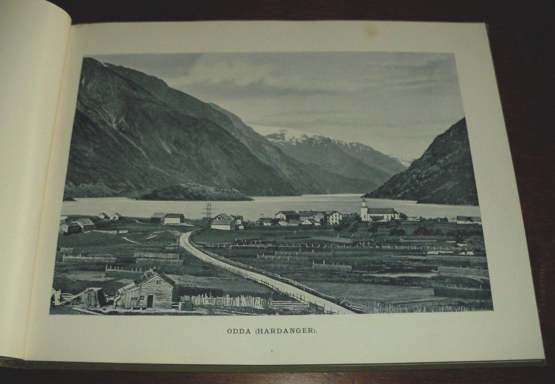 Norge i billeder indeholdende 50 prospekter fra landets flesteu201c f