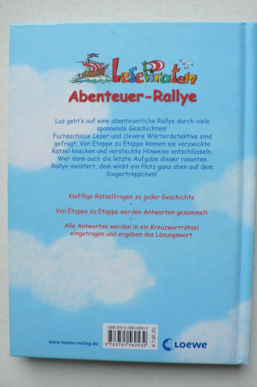 Lesepiraten Abenteuer Rallye Schubert Ulli Koenig Buch