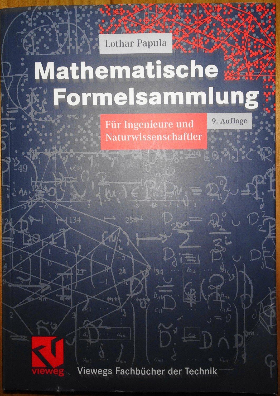 Isbn 9783834801562 Mathematische Formelsammlung Fur Ingenieure Und Naturwissenschaftler Neu Gebraucht Kaufen