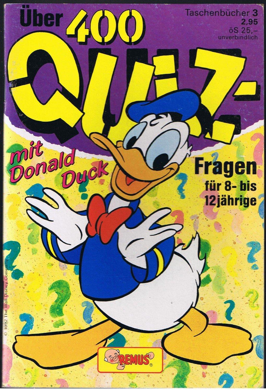 über 400 Quiz Fragen Mit Donald Duck Verlagsredaktion Buch