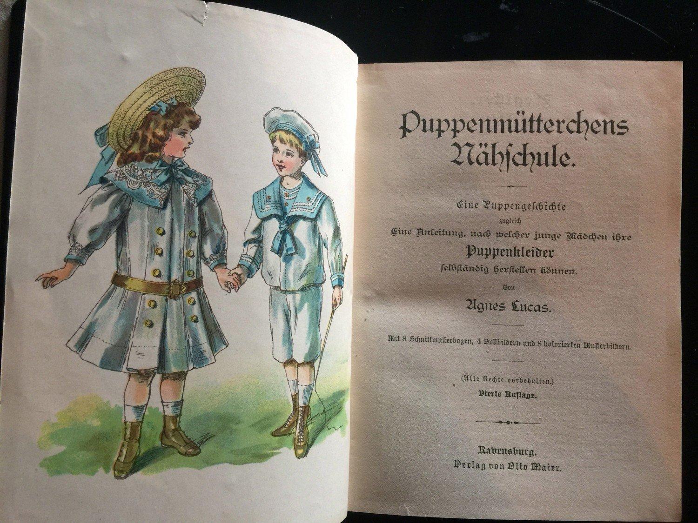 Puppenmuetterchens Naehschule mit Schnittmuster zu ...
