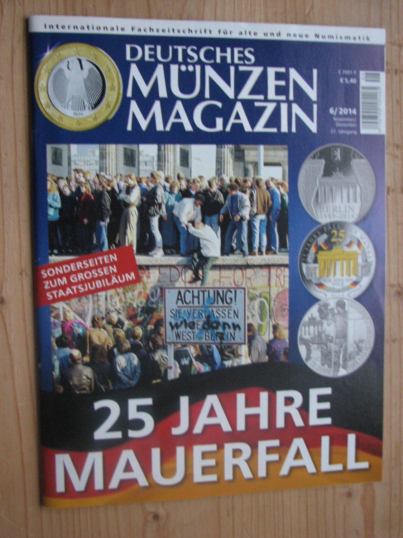 Deutsches Münzen Magazin Jahrgang 2014 Heft 1 Bis 6 Komplett