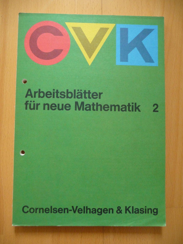 """CVK-Arbeitsblätter für neue Mathematik 2/ Die Mitgl"""" – Buch ..."""