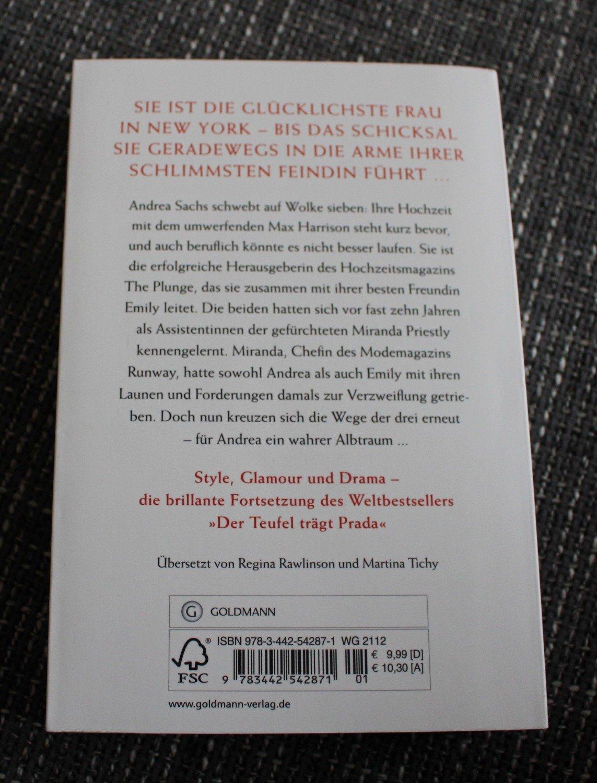 """beadeab7a7206 Die Rache trägt Prada"""" (Lauren Weisberger) – Buch gebraucht kaufen ..."""