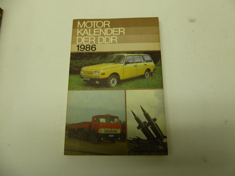 """Motor Kalender der DDR 1986"""" – Buch gebraucht kaufen – A02h5wEv01ZZc"""