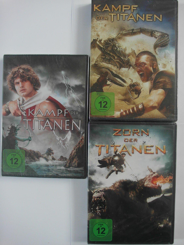 Filme Hades in kampf der titanen - 2 filme 1981 + 2010 - perseus, andromeda