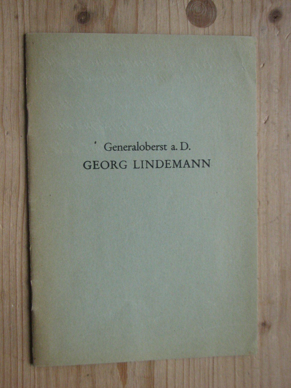 "Georg Lindemann - selbstverfasster Lebenslauf geb"" (Georg ..."