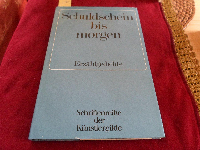 """Schuldschein bis morgen"""" (Schremmer Ernst) – Buch gebraucht kaufen ..."""