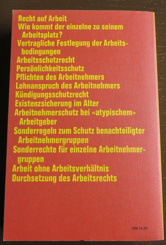 Das Arbeitsrecht Ii Wolfgang Däubler Buch Gebraucht Kaufen