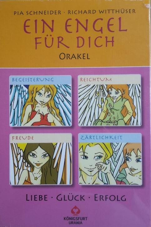 Ein Engel Fur Dich Liebe Gluck Erfolg Buch Und Karten Bucher