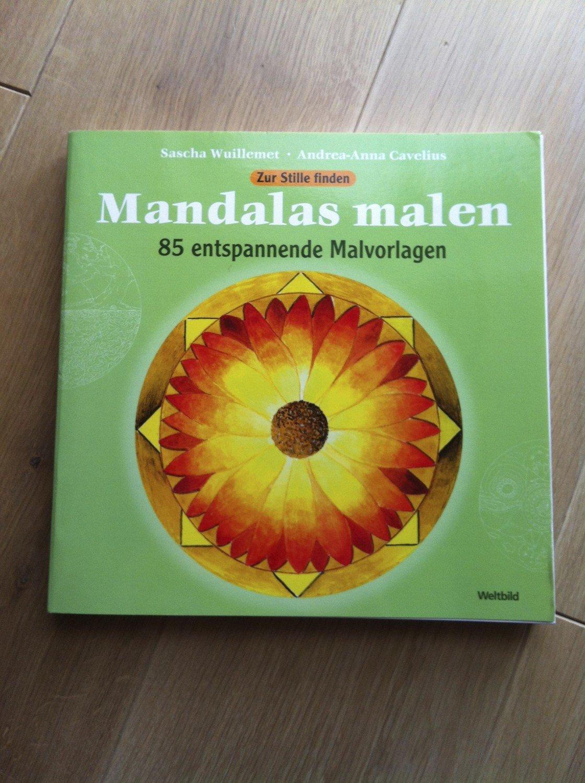 """Mandalas malen - 85 entspannende Malvorlagen"""" – Bücher gebraucht ..."""