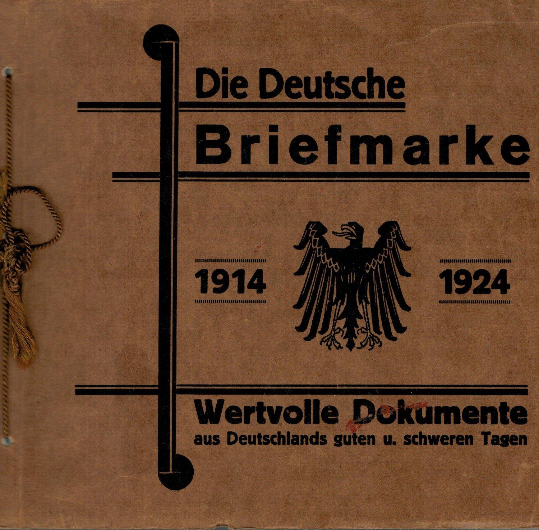 Die Deutsche Briefmarke 1914 1924 Buch Gebraucht Kaufen