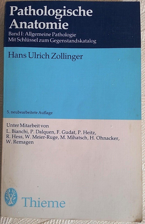 """Pathologische Anatomie Band Allgemeine Pathologie"""" – Bücher ..."""