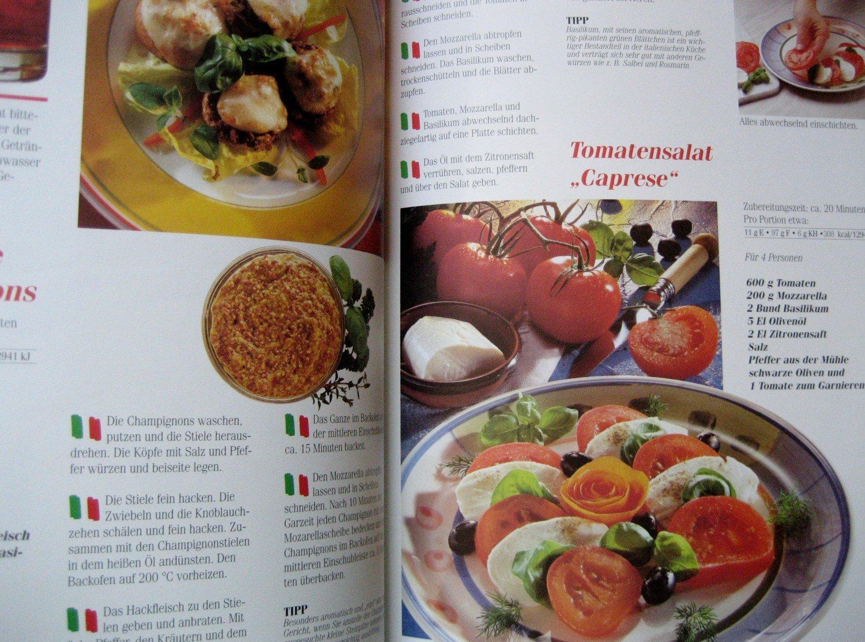 """Essen & Genießen - Großes Buch der Italienischen Küche"""" – Buch ..."""