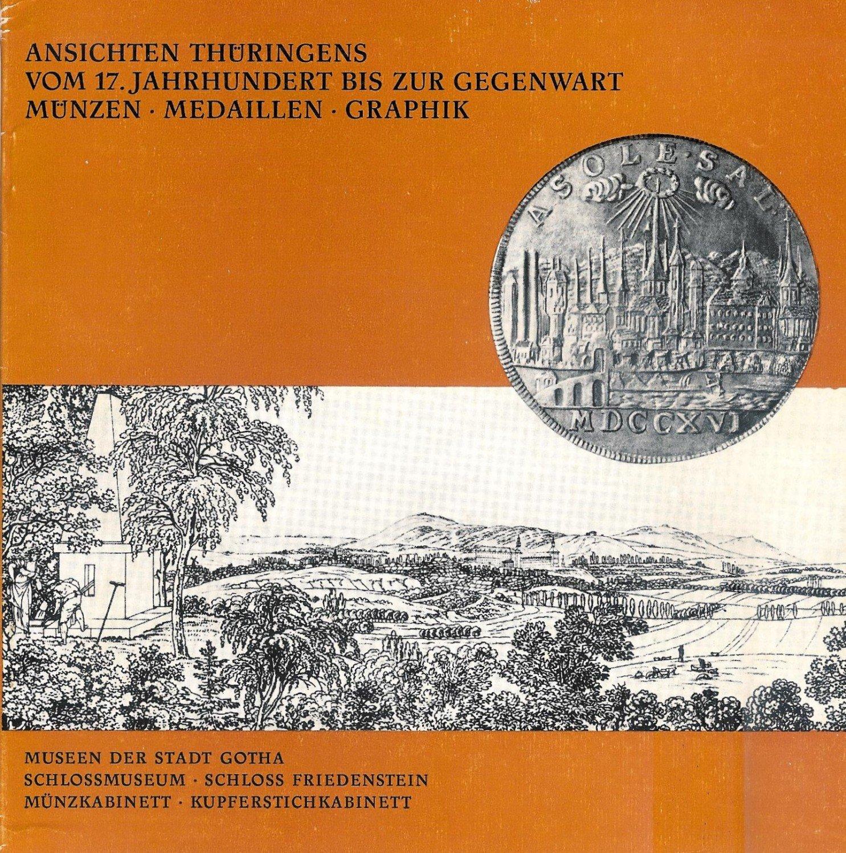 Ansichten Thüringens Vom Jahrhundert Bis Zur Gegenwart Münzen