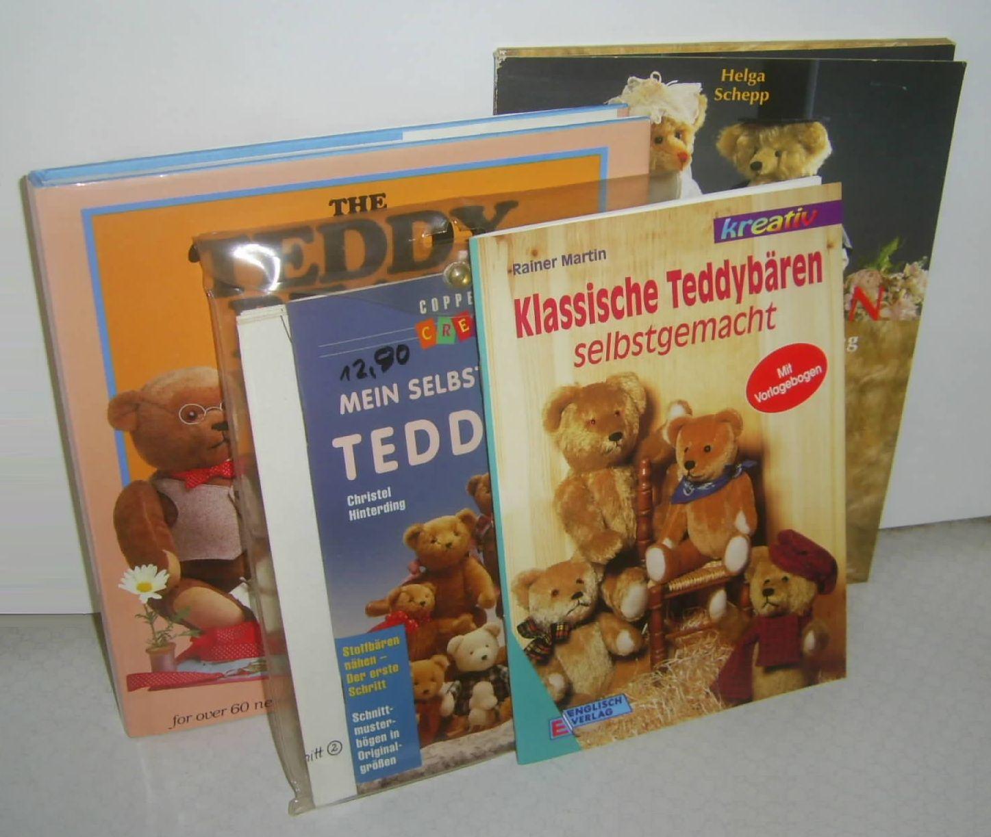Teddypaket 4 Bücher: Mein selbstgemachter Teddybär / Klassische ...