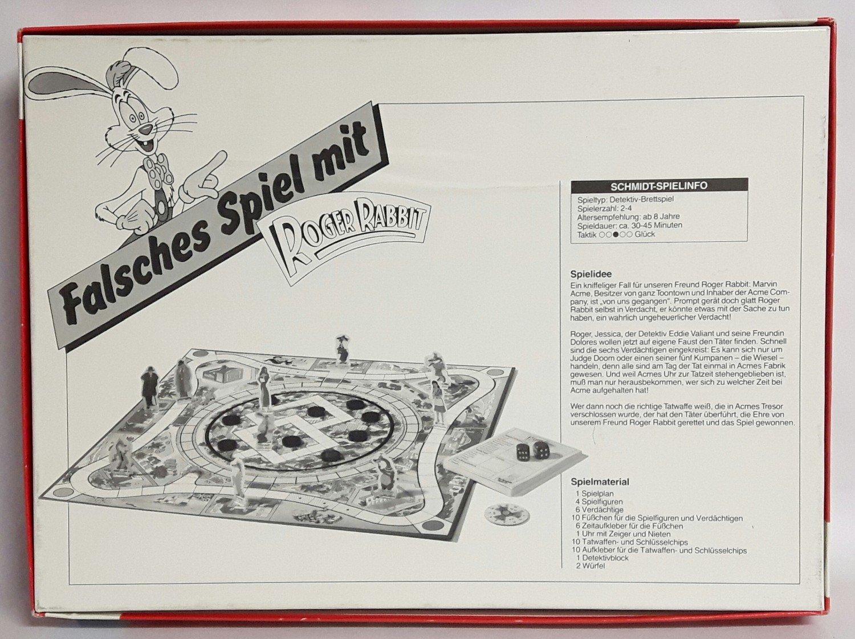 Falsches Spiel mit Roger Rabbit - Das Spiel zum Film 1988 Schmidt ...
