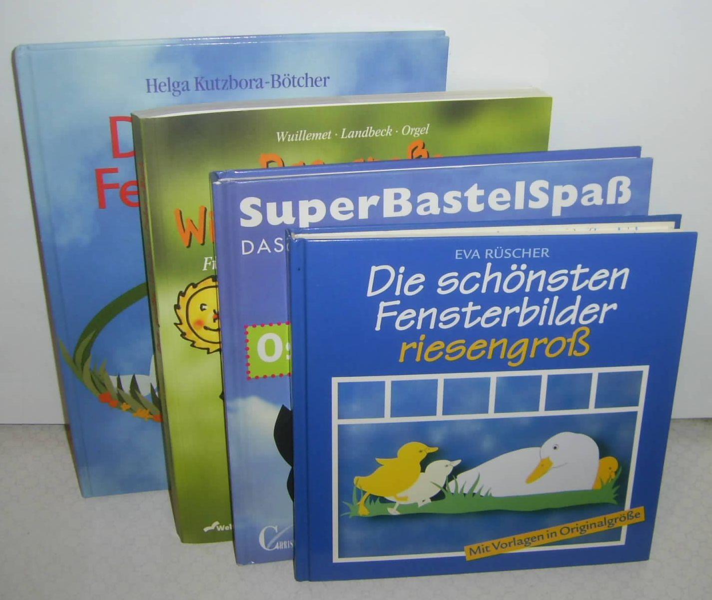 Dekorative Bücher 7 bücher: dekorative fensterbilder // die schönsten fensterbilder