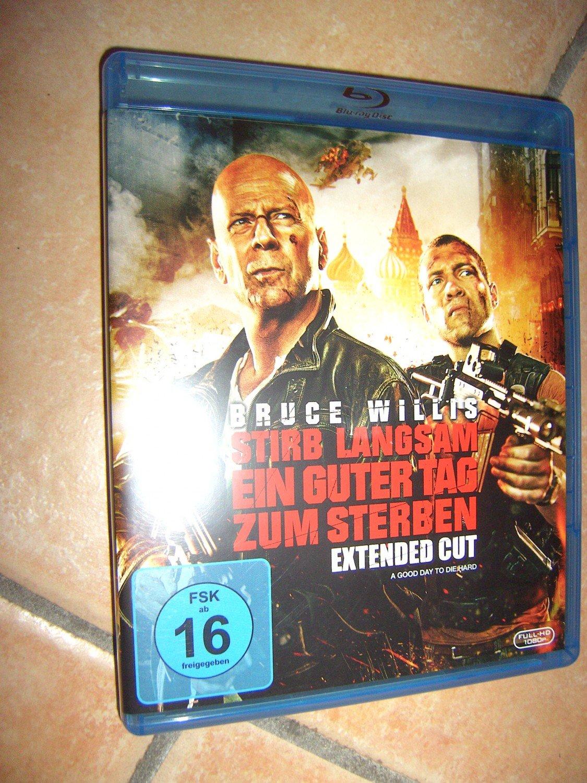 Stirb Langsam Ein Guter Tag Zum Sterben Extended Cut Blu Ray
